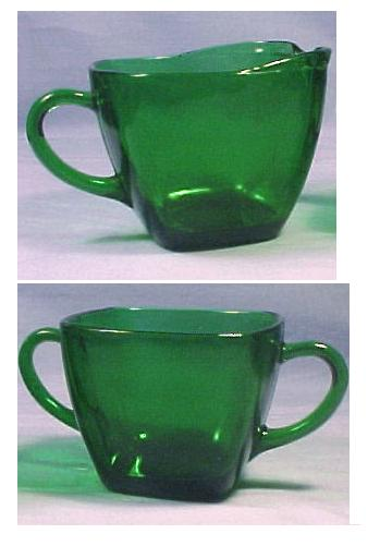 Depression Glass Fire King By Anchor Hocking Forest Green Jadite Simple Green Depression Glass Patterns