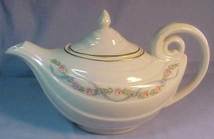 Hall dinnerware jewel tea orange poppy rose parade and more sets platters plates bowls - Aladdin teapot ...