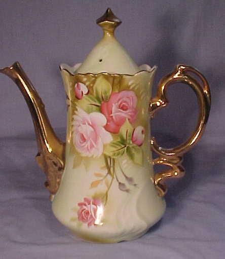 Lefton China Vase Vase And Cellar Image Avorcor