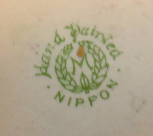 Nippon and Occupied Japan porcelain china patterns - Vases, Bowls ...