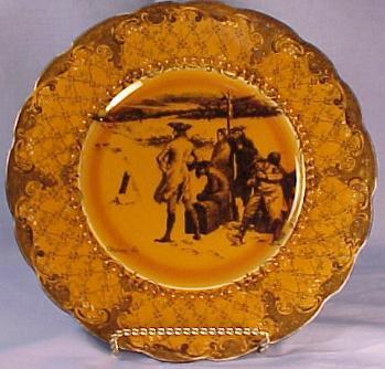 Coaching Bayreuth porcelain china patterns ridgway royal bayreuth royal winton royalty rs prussia