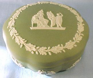 Green Wedgwood Box