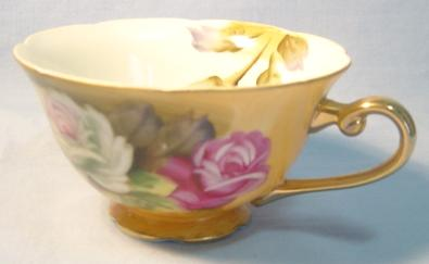 Lefton | Coffee Service Chintz Floral 3 - Antiques Prices