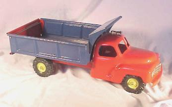 Toy Dump Truck; Louis Marx