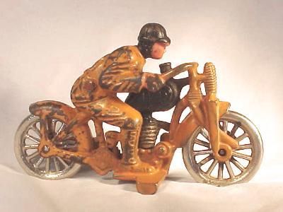 Hillclimber #649 Motorcycle Toy