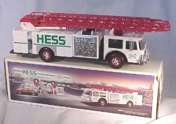 Hess Toy Fire Truck with Dual Sound Siren