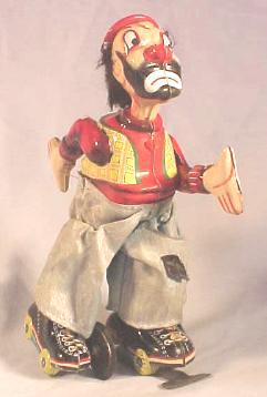 Toplay, Ltd. (T.P.S.) Clown on Rollerskates